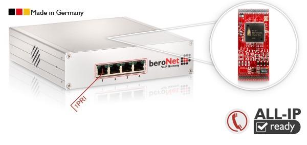 beroNet 1 PRI VoIP Gateway